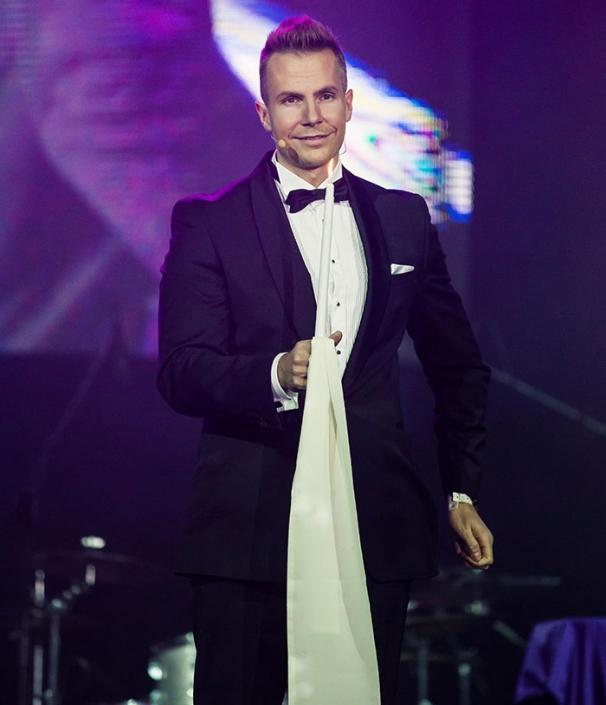 Iluzjonista Marcin Gogołowicz