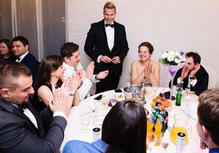 Iluzjonista Marcin Gogołowicz pokaz iluzji na weselu